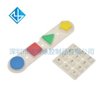 Elevator equipment printing silicone buttons screen printing silicone buttons - lift equipment manufacturers